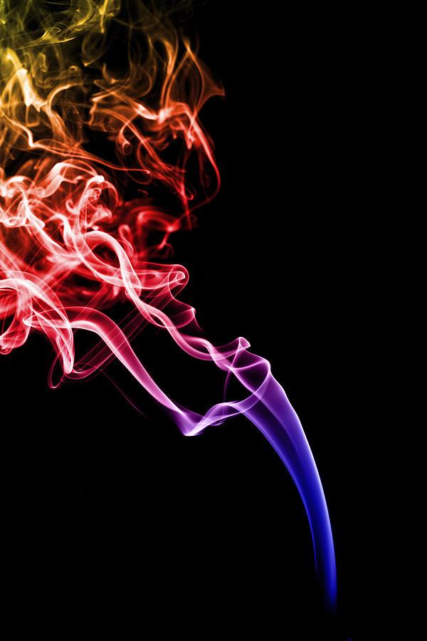 Colourful Smoke Photograph