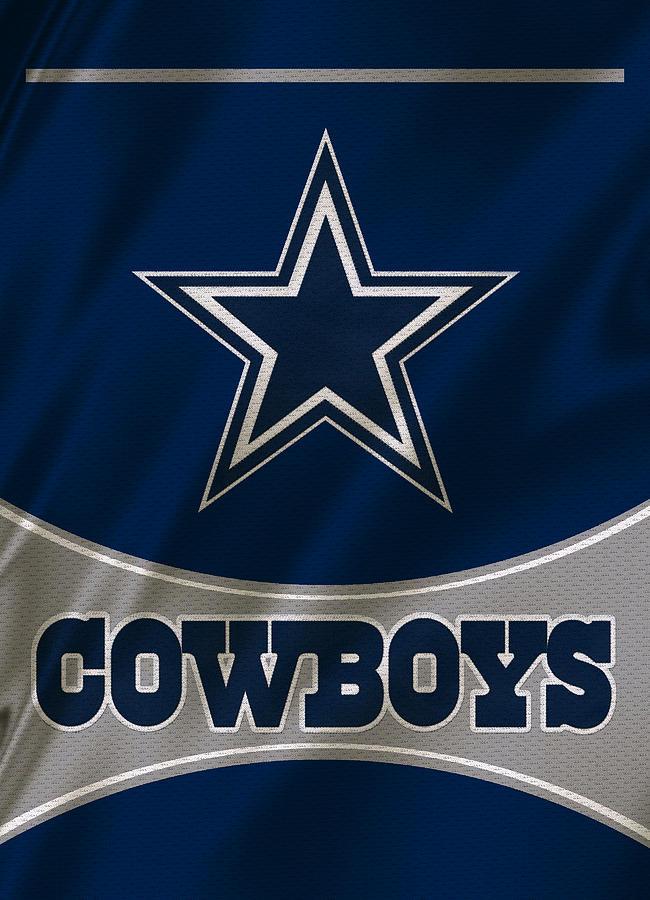 Dallas Cowboys Uniform Photograph By Joe Hamilton