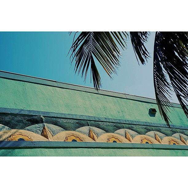 Love Photograph - {miami Beachs Art Deco}  In 1979 by Joel Lopez