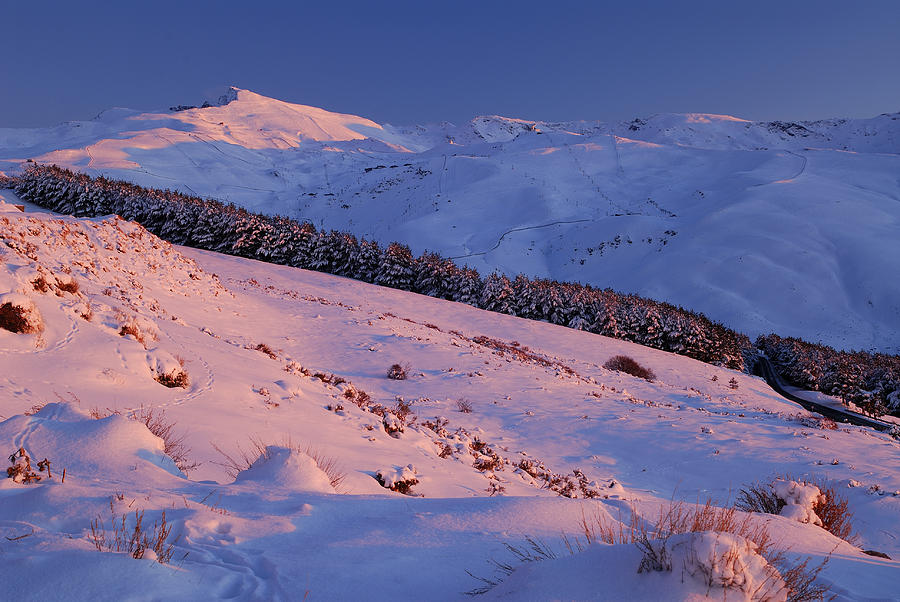 Sunset Photograph - Sierra Nevada by Guido Montanes Castillo