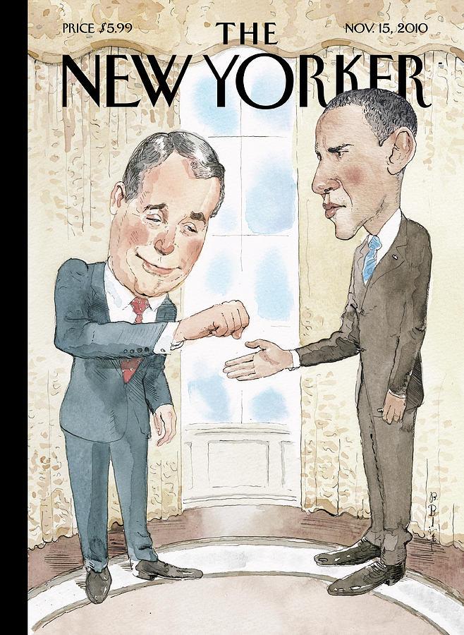 New Yorker November 15th, 2010 Painting by Barry Blitt