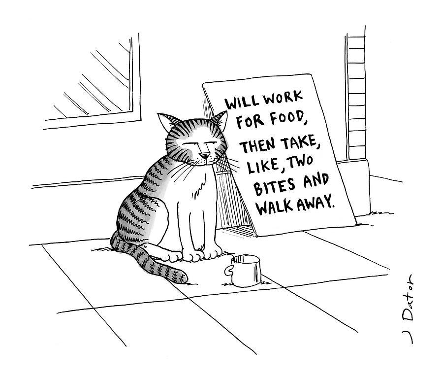 New Yorker September 22nd, 2008 Drawing by Joe Dator
