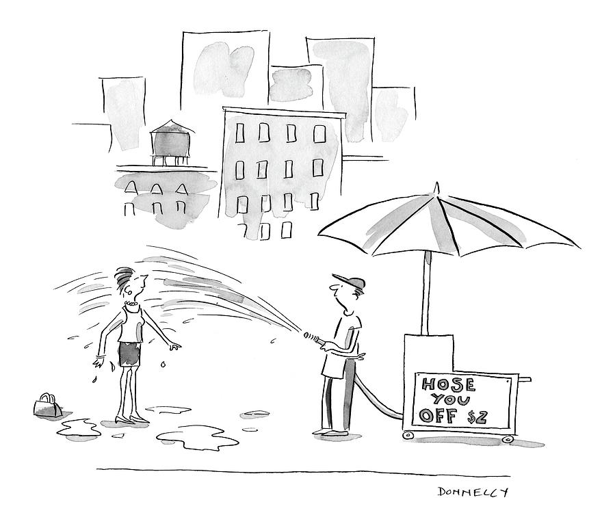 New Yorker June 27th, 2005 Drawing by Liza Donnelly