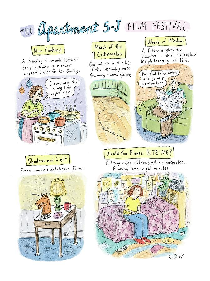 New Yorker September 18th, 2006 Drawing by Roz Chast