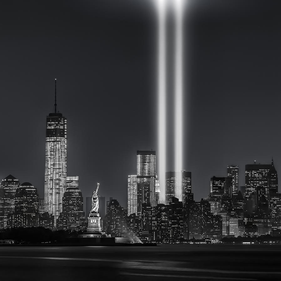 September 11 Attacks Photograph - 12 Years Later by Eduard Moldoveanu