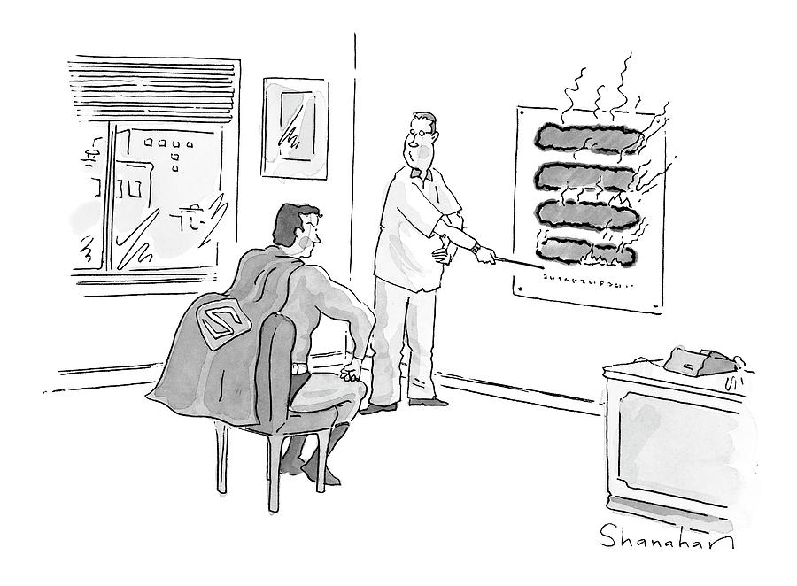 New Yorker June 12th, 2000 Drawing by Danny Shanahan