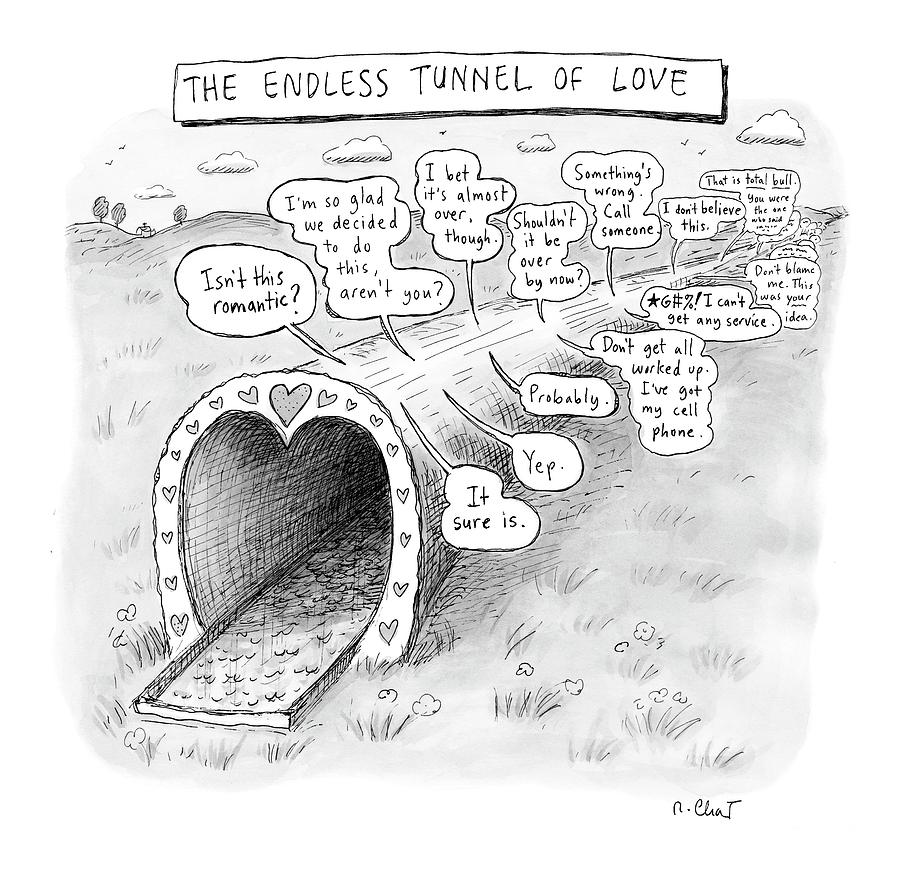 New Yorker March 31st, 2008 Drawing by Roz Chast