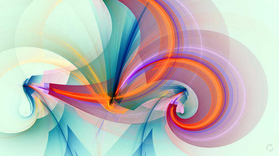 Design Digital Art - 1260 by Lar Matre