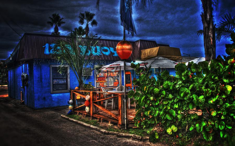 Restaurant Photograph - 12a Buoy by Richard Hemingway