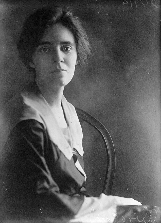 1918 Photograph - Alice Paul by Granger