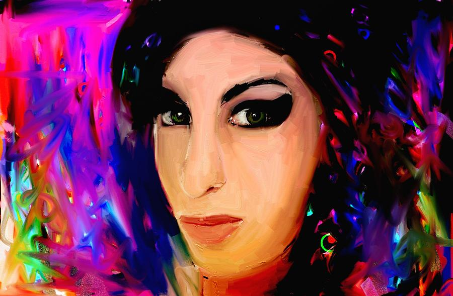 Amy Winehouse Painting - Amy Winehouse by Bogdan Floridana Oana