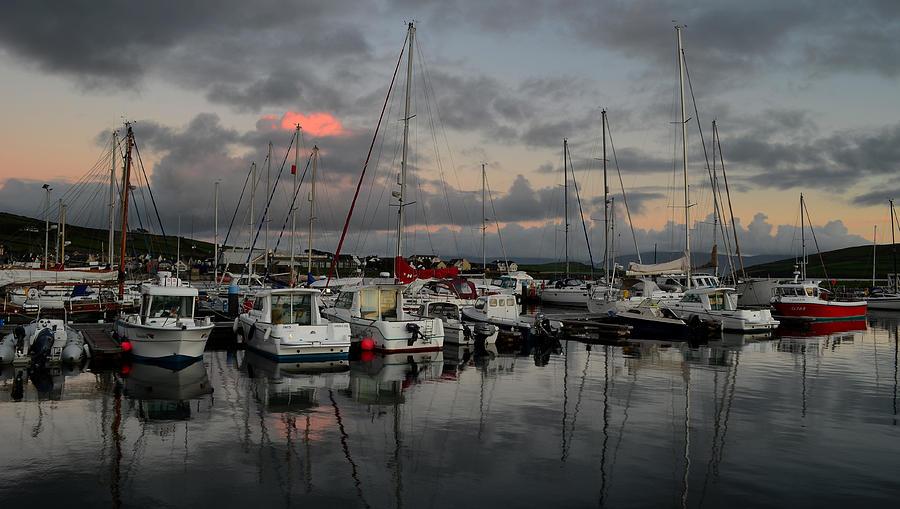 Dingle Photograph - Dingle Marina by Barbara Walsh