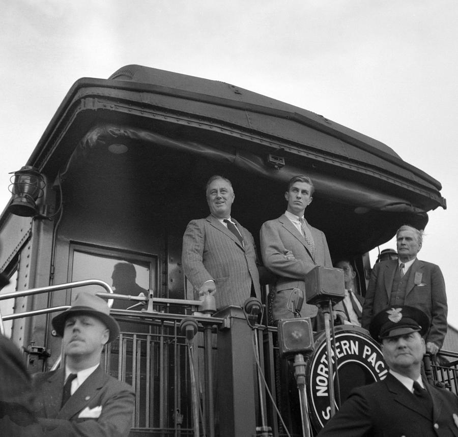1936 Photograph - Franklin D by Granger
