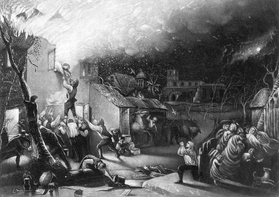 Bravery Painting - John Wesley (1703-1791) by Granger