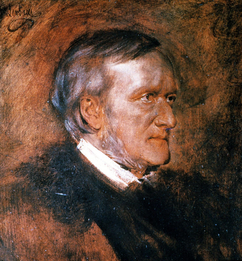 1882 Painting - Richard Wagner (1813-1883) by Granger