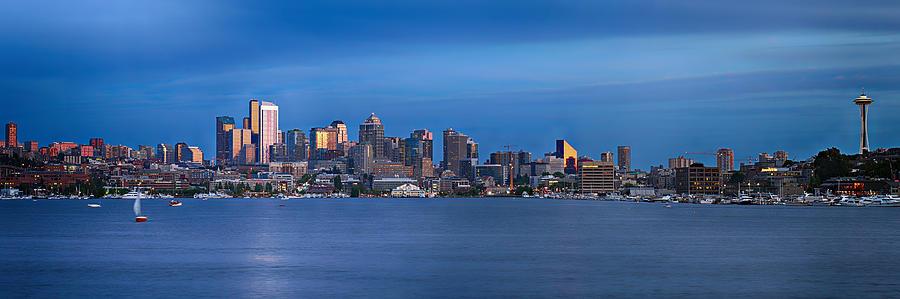 Seattle Photograph - Seattle by Paul Fell