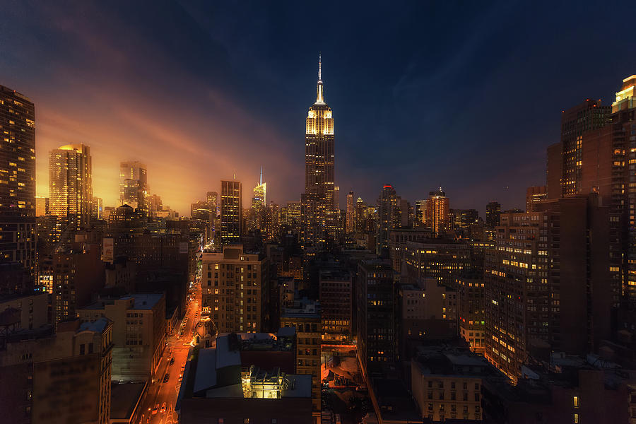 Empire State Building Photograph - Untitled 13 by David Mart?n Cast?n