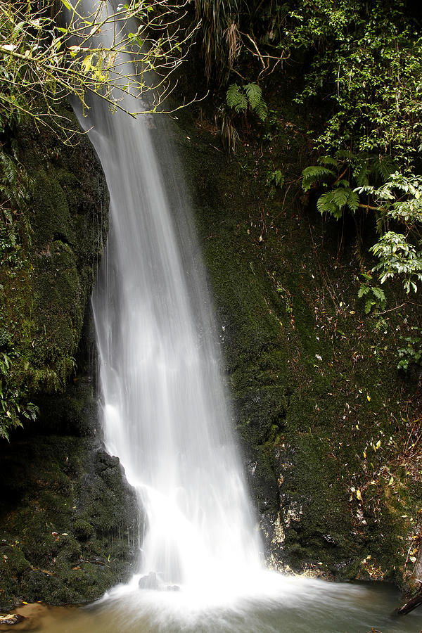 Closeup Photograph - Waterfall by Les Cunliffe