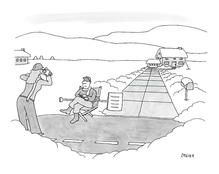 New Yorker December 17th, 2007 Drawing by Jack Ziegler