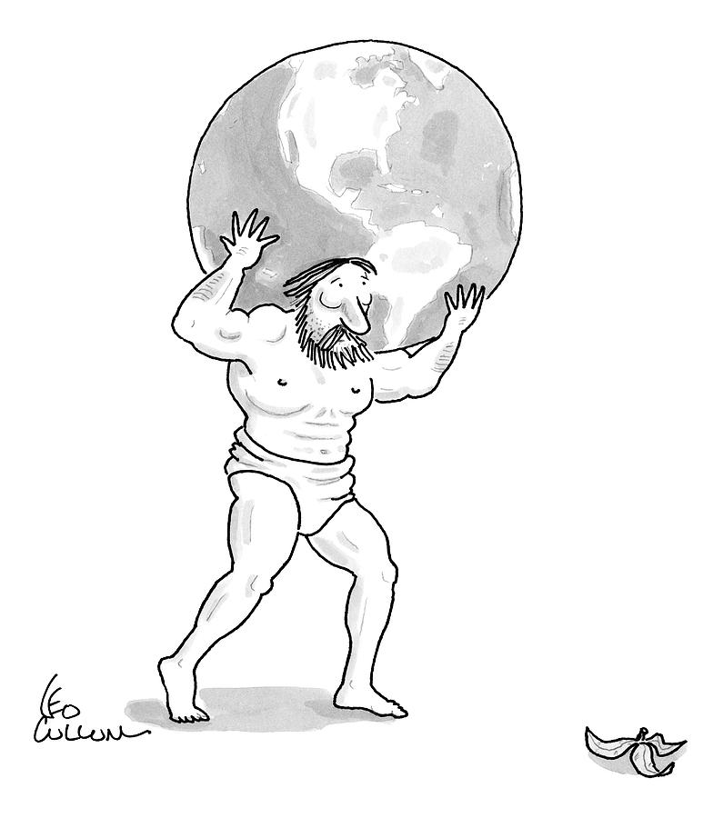 New Yorker February 9th, 2009 Drawing by Leo Cullum