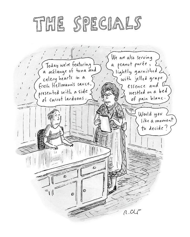 The Specials Drawing by Roz Chast