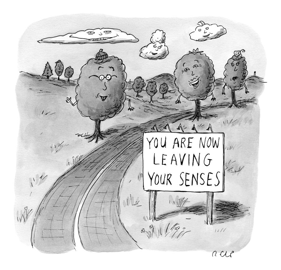 New Yorker April 20th, 2009 Drawing by Roz Chast