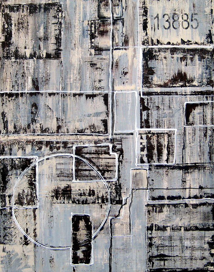 Abstract Art Paintings Painting - 13885 By Elwira Pioro by Tom Fedro - Fidostudio