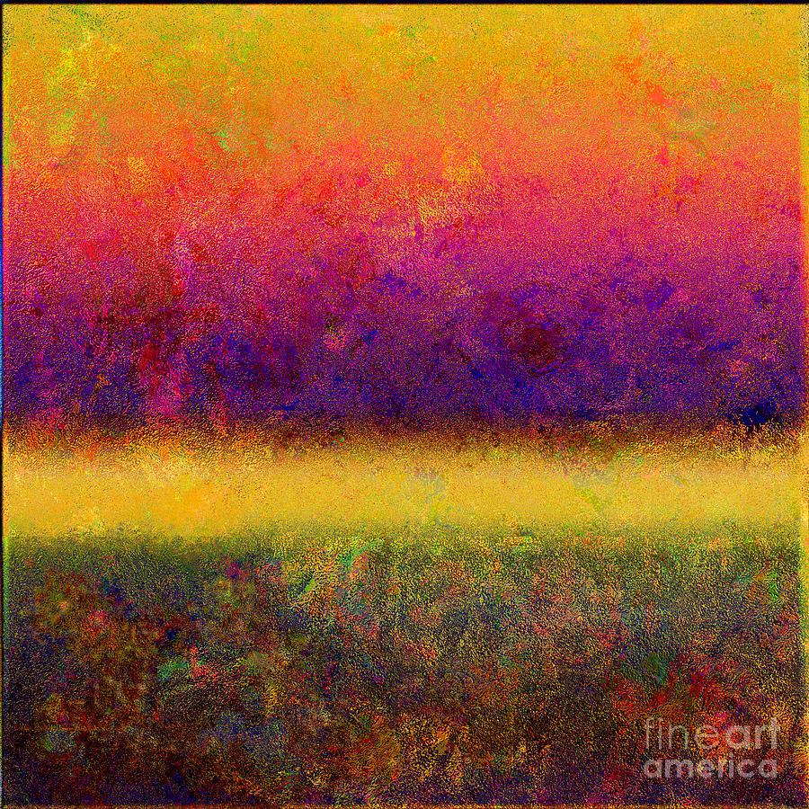 Abstract Digital Art - 1395 Abstract Thought by Chowdary V Arikatla