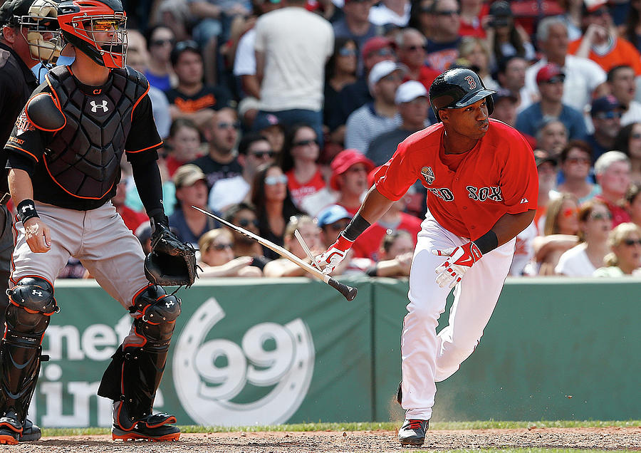 Baltimore Orioles V Boston Red Sox - 14 Photograph by Jim Rogash