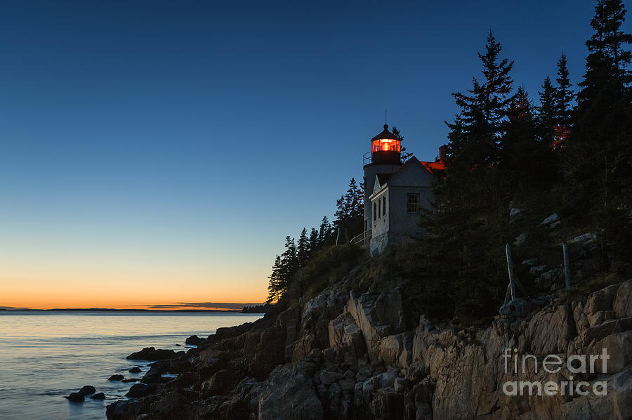 Acadia Photograph - Bass Harbor Lighthouse by John Greim