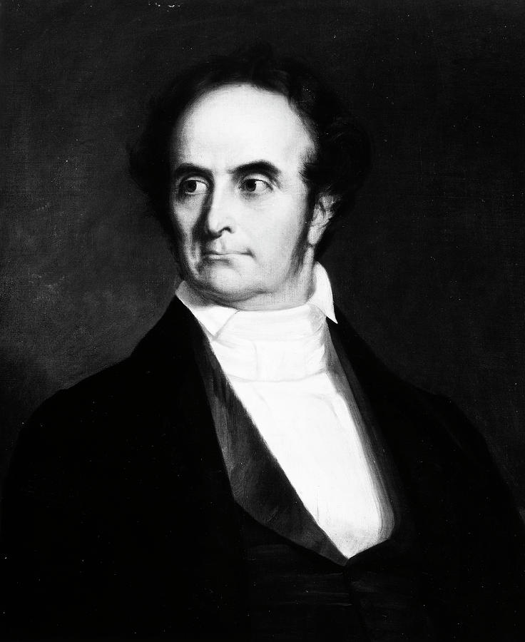 1842 Painting - Daniel Webster (1782-1852) by Granger
