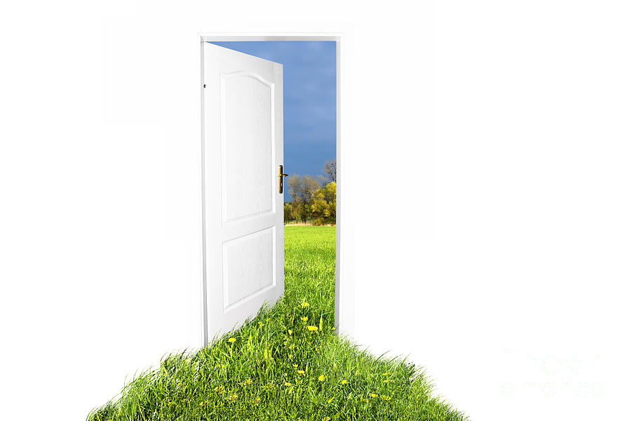 Door To New World Photograph