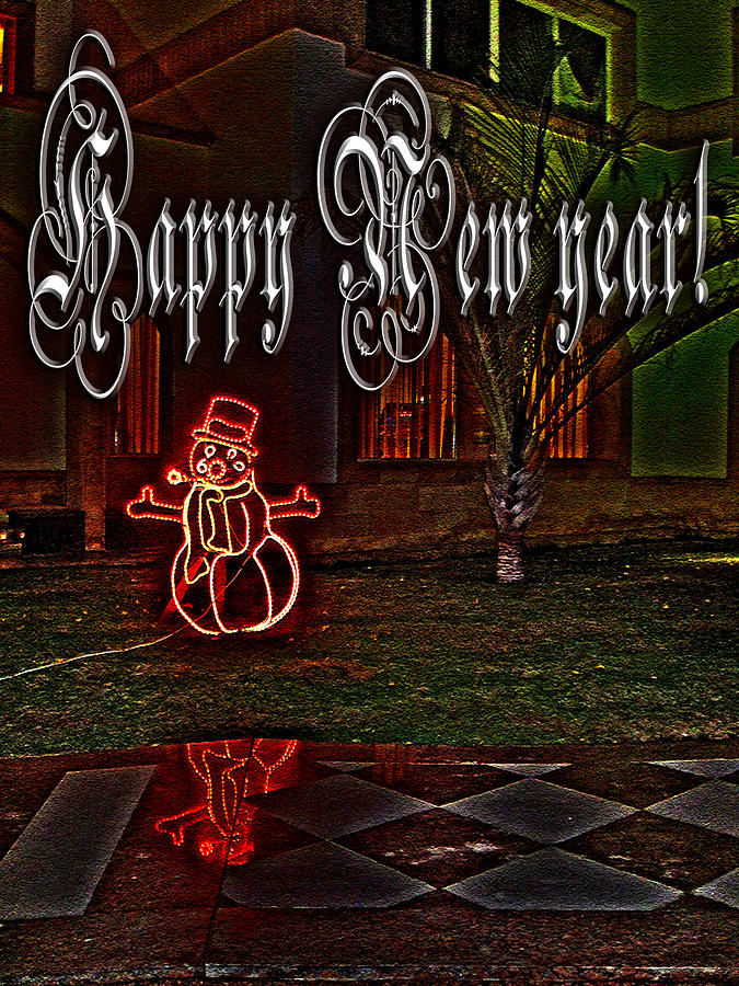 Tourism Photograph - Happy New Year by Andy i Za
