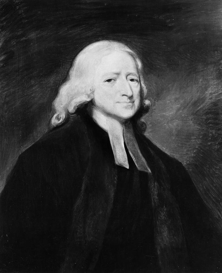 18th Century Painting - John Wesley (1703-1791) by Granger