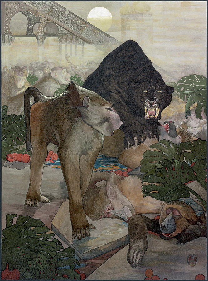 1903 Painting - Jungle Book, 1903 by Granger