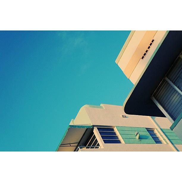 Love Photograph - {miami Beachs Art Deco}  In 1979 by Joel Lopez