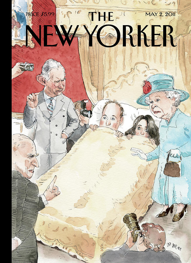 New Yorker May 2nd, 2011 Painting by Barry Blitt