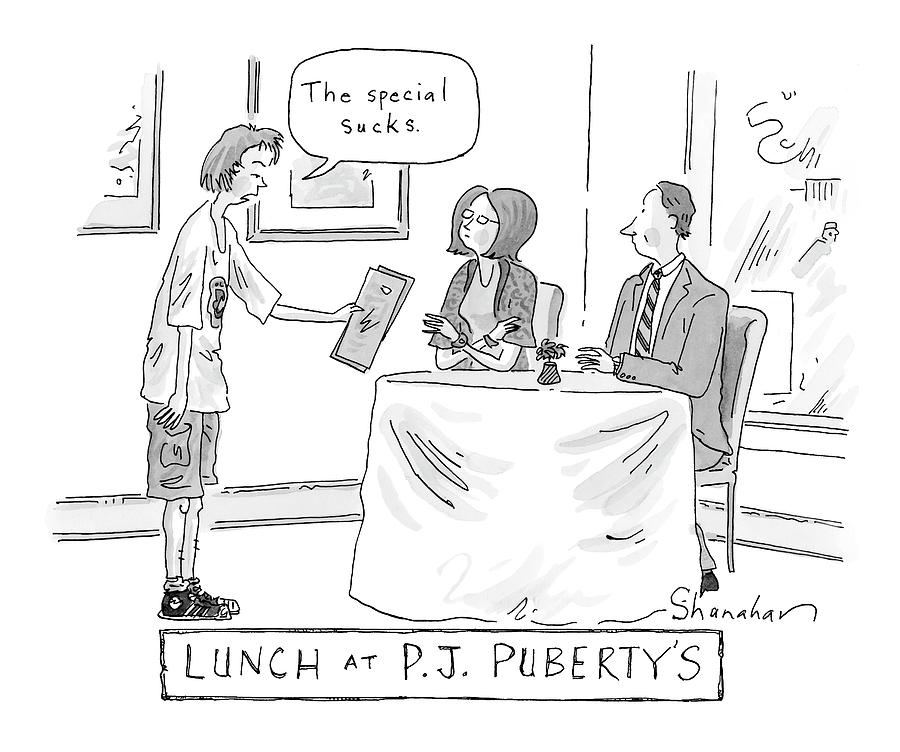 New Yorker January 14th, 2008 Drawing by Danny Shanahan