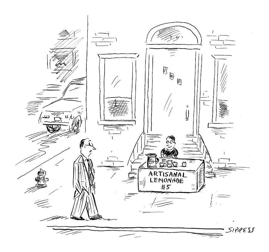 New Yorker May 30th, 2005 Drawing by David Sipress