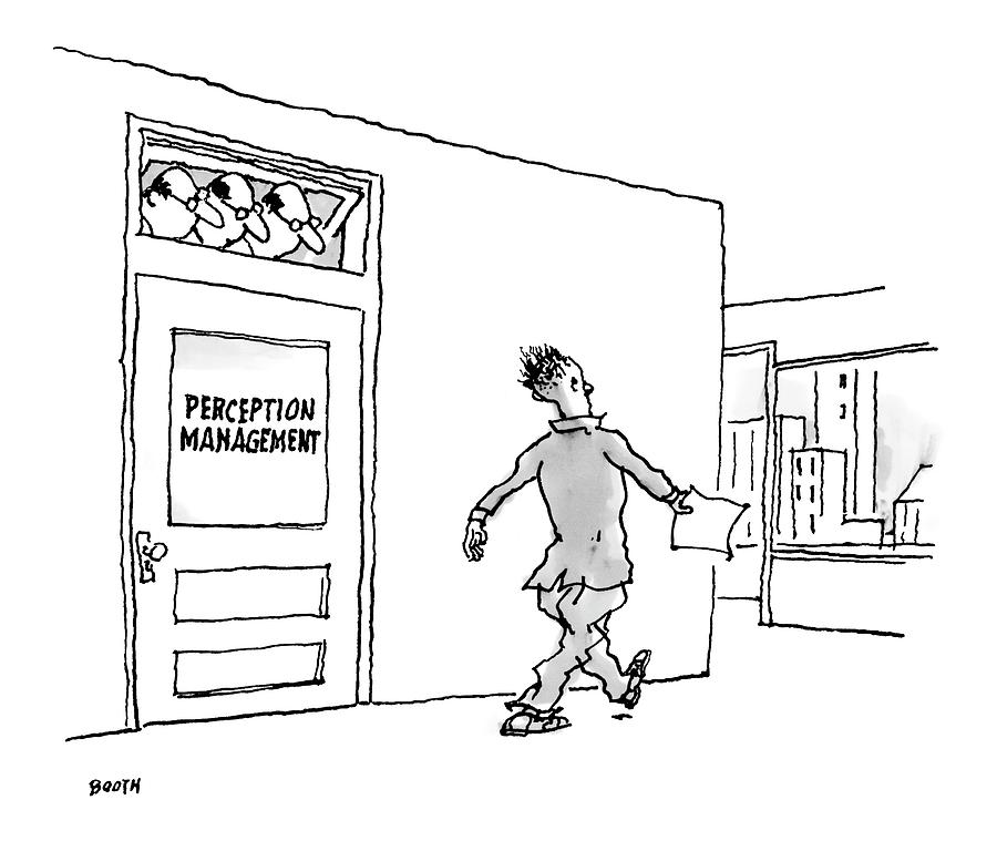 New Yorker April 24th, 2006 Drawing by George Booth