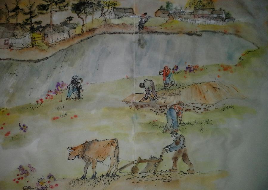 Van Gogh My Way Album Painting by Debbi Saccomanno Chan