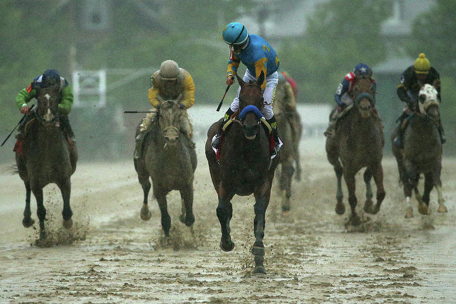140th Preakness Stakes Photograph by Patrick Smith