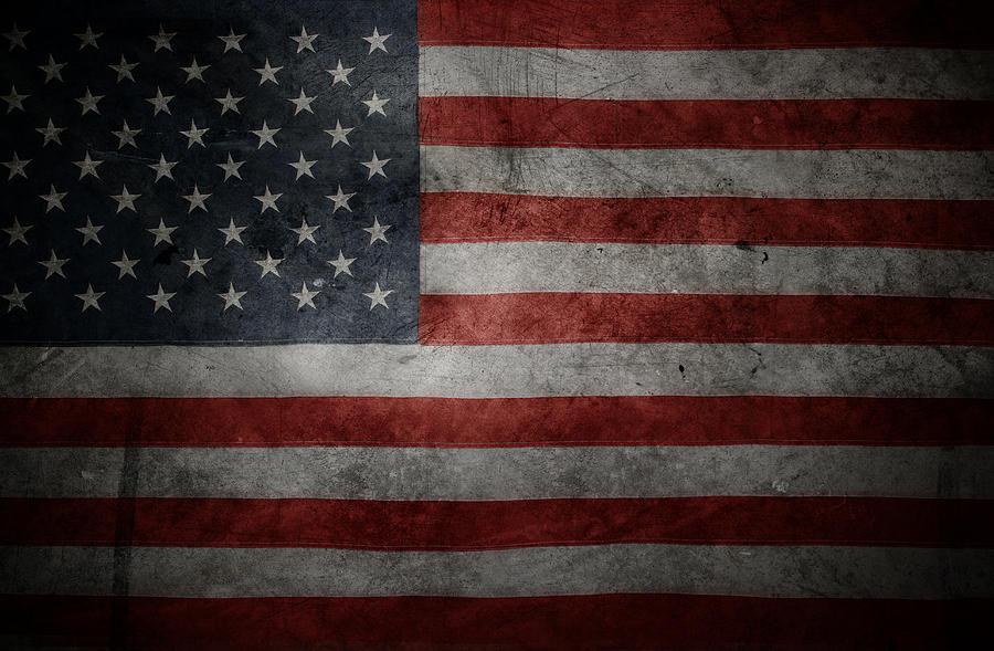 American Flag No.107 Photograph