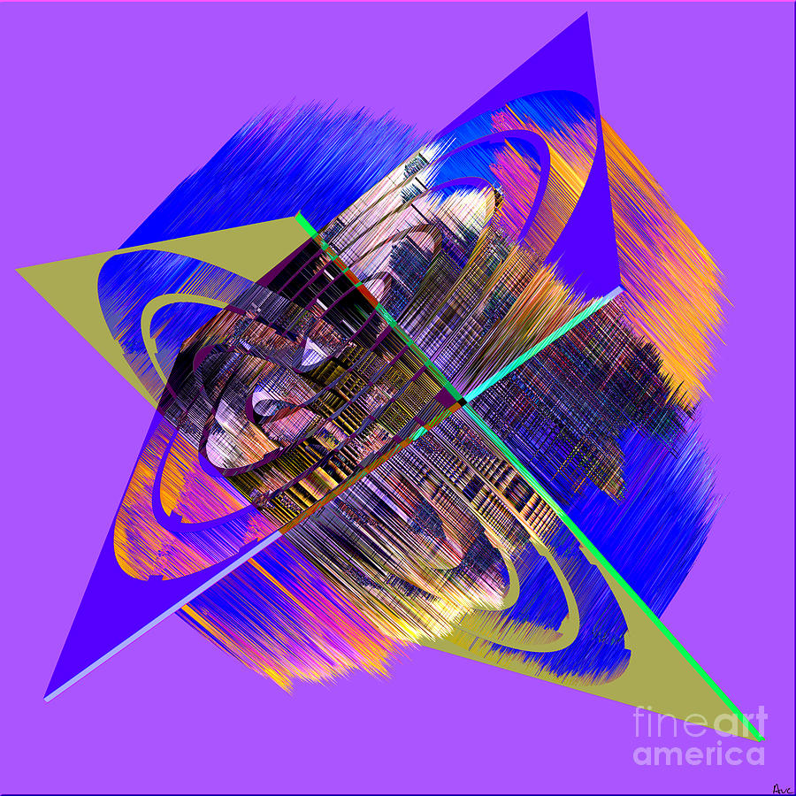Abstract Digital Art - 1422 Abstract Thought by Chowdary V Arikatla