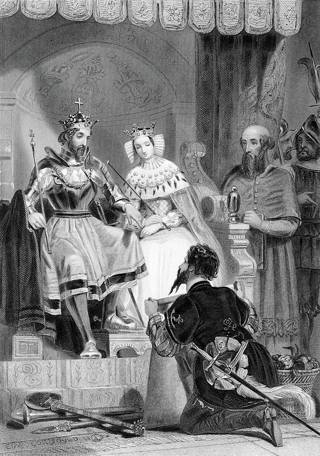 Vertical Photograph - 1480s Christopher Columbus Submitting by Vintage Images