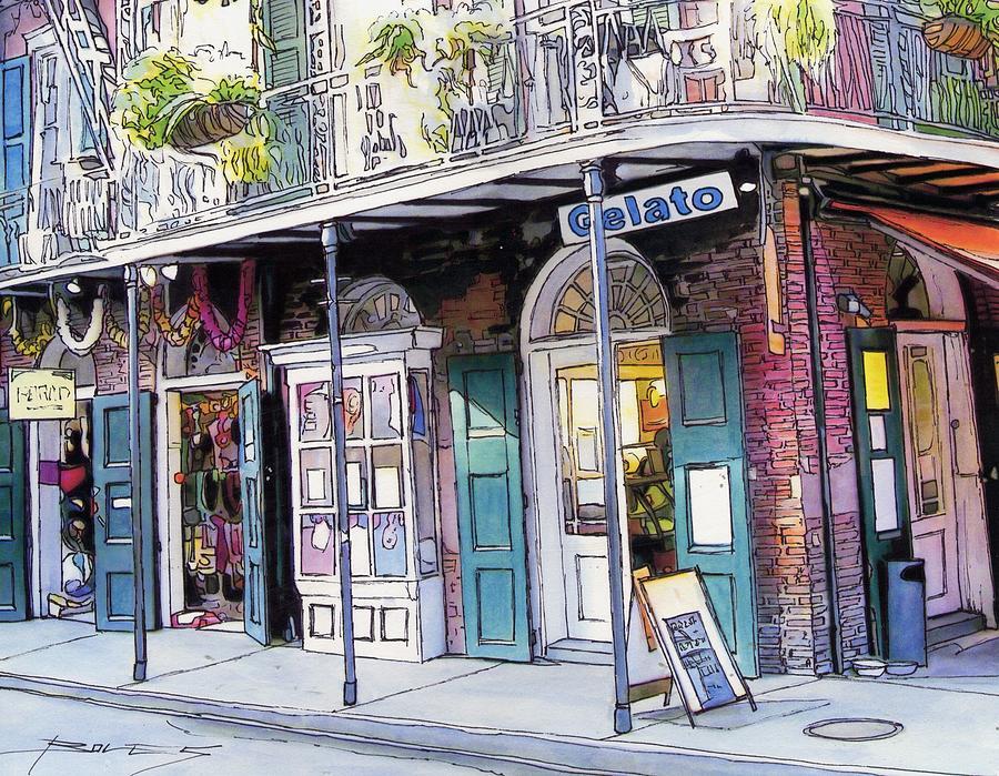 New Orleans Painting - 149 by John Boles
