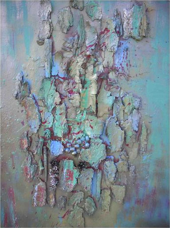 Mixed Media Mixed Media - Assemblage by Wiola Anyz