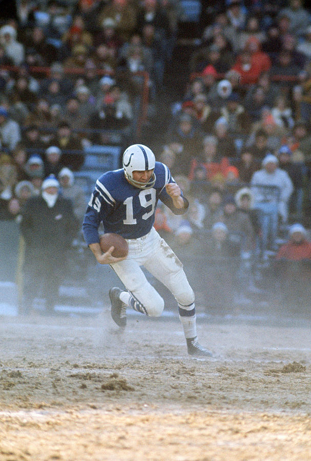 Baltimore Colts Photograph by Focus On Sport