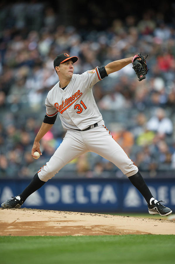 Baltimore Orioles V. New York Yankees Photograph by Rob Tringali