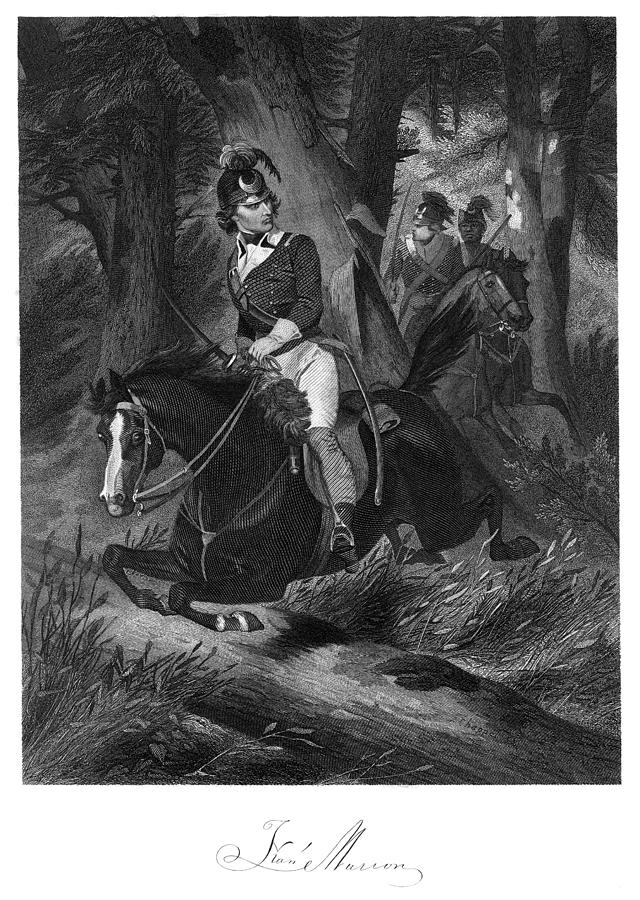 18th Century Photograph - Francis Marion (1732?-1795) by Granger
